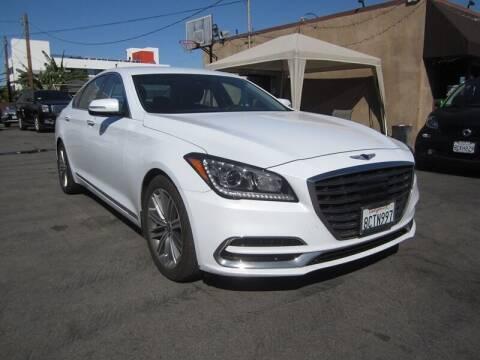 2018 Genesis G80 for sale at Win Motors Inc. in Los Angeles CA