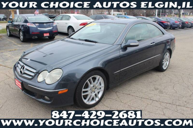 2008 Mercedes-Benz CLK for sale at Your Choice Autos - Elgin in Elgin IL