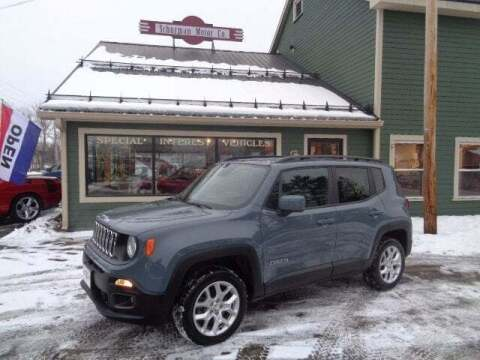 2018 Jeep Renegade for sale at SCHURMAN MOTOR COMPANY in Lancaster NH