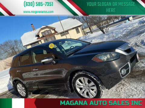 2010 Acura RDX for sale at Magana Auto Sales Inc in Aurora IL