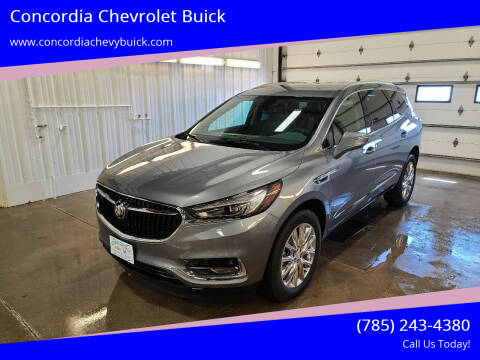 2021 Buick Enclave for sale at Concordia Chevrolet Buick in Concordia KS