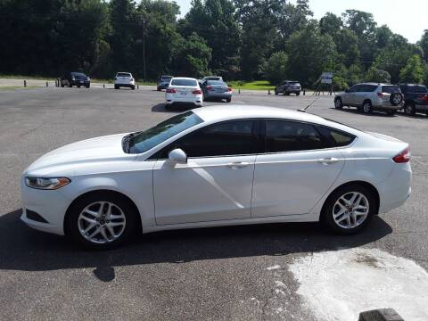 2015 Ford Fusion for sale at WALKER MOTORS LLC in Hattiesburg MS