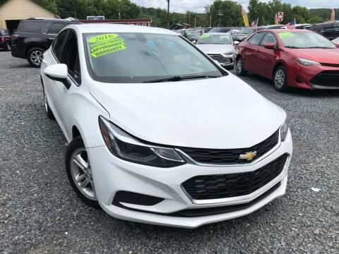 2016 Chevrolet Cruze for sale at A&M Auto Sales in Edgewood MD