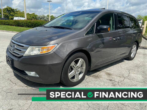 2012 Honda Odyssey for sale at D & P OF MIAMI CORP in Miami FL