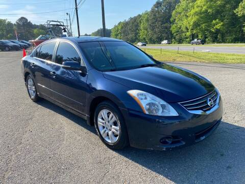 2012 Nissan Altima for sale at CVC AUTO SALES in Durham NC