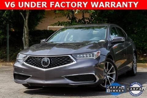 2019 Acura TLX for sale at Gravity Autos Atlanta in Atlanta GA