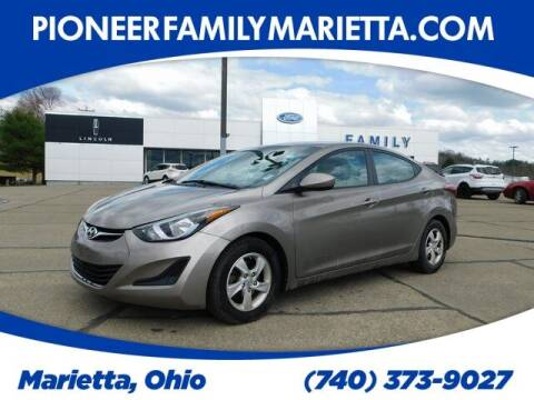 2015 Hyundai Elantra for sale at Pioneer Family preowned autos in Williamstown WV