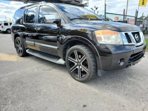 2011 Nissan Armada for sale at America Auto Wholesale Inc in Miami FL