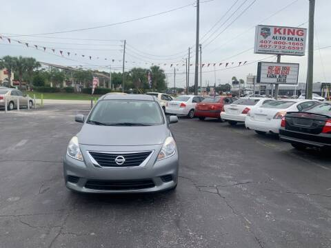2013 Nissan Versa for sale at King Auto Deals in Longwood FL