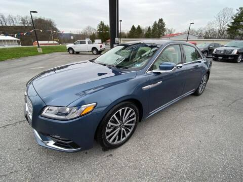 2018 Lincoln Continental for sale at Alexandria Auto Mart LLC in Alexandria PA