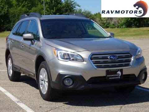 2017 Subaru Outback for sale at RAVMOTORS in Burnsville MN