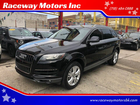 2011 Audi Q7 for sale at Raceway Motors Inc in Brooklyn NY