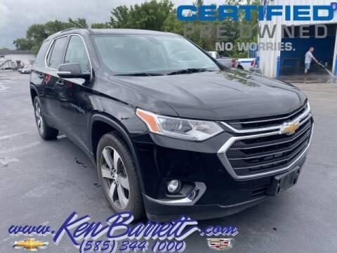 2018 Chevrolet Traverse for sale at KEN BARRETT CHEVROLET CADILLAC in Batavia NY