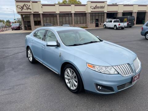 2009 Lincoln MKS for sale at ASSOCIATED SALES & LEASING in Marshfield WI
