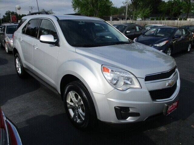 2013 Chevrolet Equinox for sale at GENOA MOTORS INC in Genoa IL