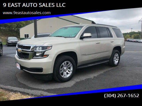 2016 Chevrolet Tahoe for sale at 9 EAST AUTO SALES LLC in Martinsburg WV