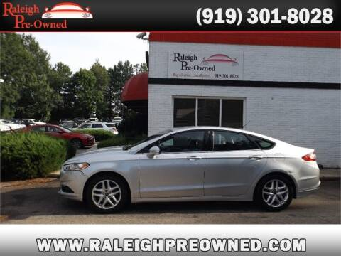 2013 Ford Fusion for sale at Raleigh Pre-Owned in Raleigh NC