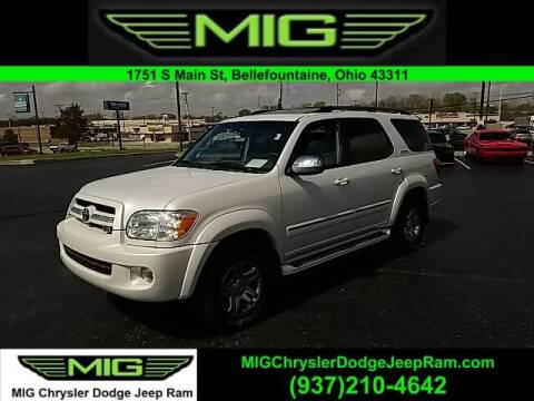 2007 Toyota Sequoia for sale at MIG Chrysler Dodge Jeep Ram in Bellefontaine OH