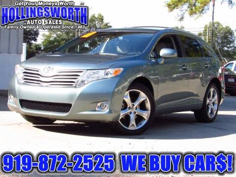 2009 Toyota Venza for sale at Hollingsworth Auto Sales in Raleigh NC