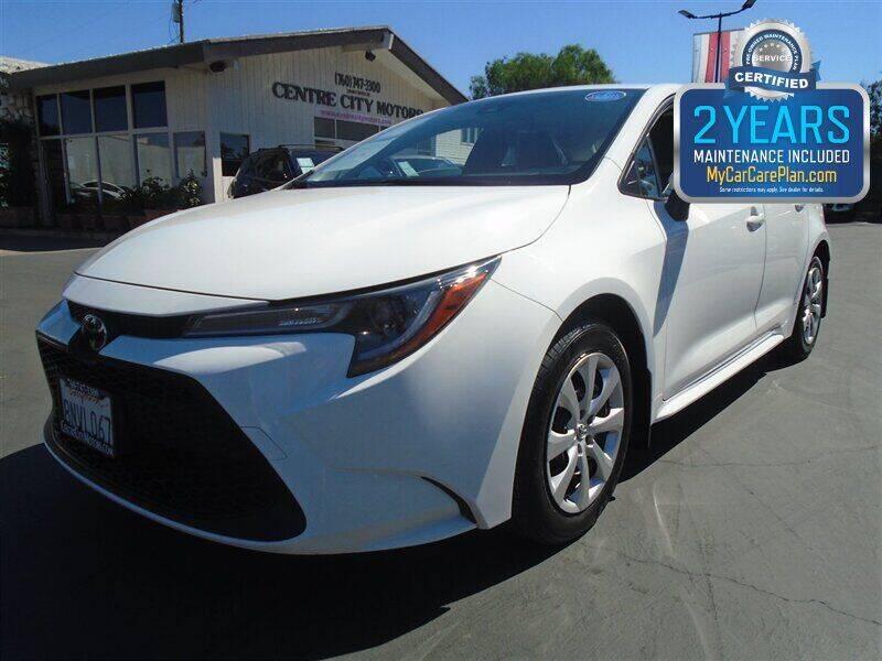 2020 Toyota Corolla for sale at Centre City Motors in Escondido CA