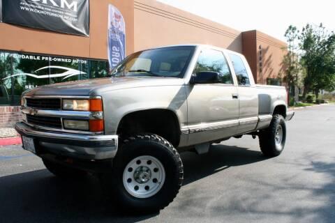 1998 Chevrolet C/K 1500 Series for sale at CK Motors in Murrieta CA