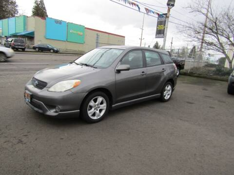 2005 Toyota Matrix for sale at ARISTA CAR COMPANY LLC in Portland OR