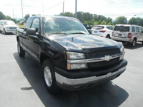 2003 Chevrolet Silverado 1500 for sale at Morelock Motors INC in Maryville TN
