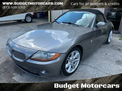 2003 BMW Z4 for sale at Budget Motorcars in Tampa FL