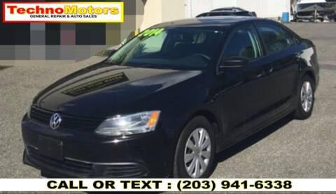 2014 Volkswagen Jetta for sale at Techno Motors in Danbury CT