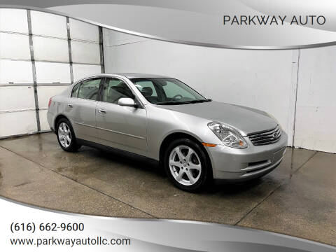 2004 Infiniti G35 for sale at PARKWAY AUTO in Hudsonville MI