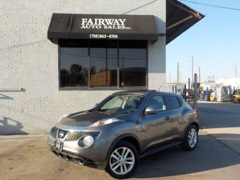 2012 Nissan JUKE for sale at FAIRWAY AUTO SALES, INC. in Melrose Park IL