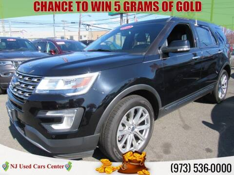 2017 Ford Explorer for sale at New Jersey Used Cars Center in Irvington NJ