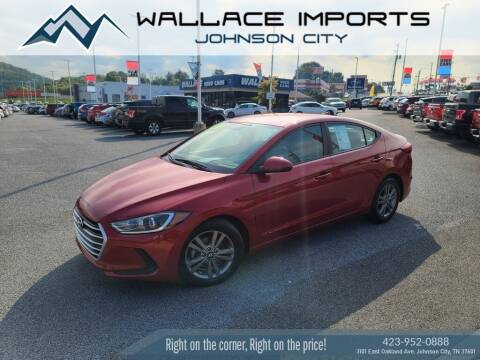 2017 Hyundai Elantra for sale at WALLACE IMPORTS OF JOHNSON CITY in Johnson City TN