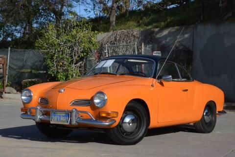 1970 Volkswagen Karmann Ghia for sale at Milpas Motors in Santa Barbara CA