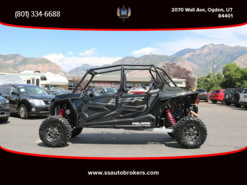 2018 Polaris RZR XP 4 Turbo EPS for sale at S S Auto Brokers in Ogden UT