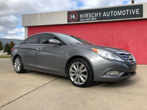 2011 Hyundai Sonata for sale at Hirschy Automotive in Fort Wayne IN