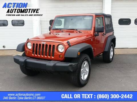 2009 Jeep Wrangler for sale at Action Automotive Inc in Berlin CT