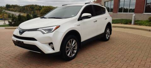 2016 Toyota RAV4 Hybrid for sale at Auto Wholesalers in Saint Louis MO