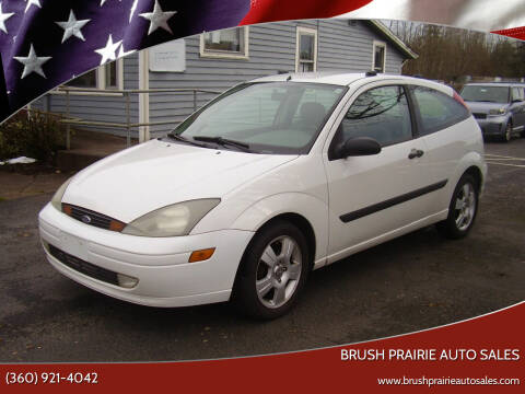 2003 Ford Focus for sale at Brush Prairie Auto Sales in Battle Ground WA