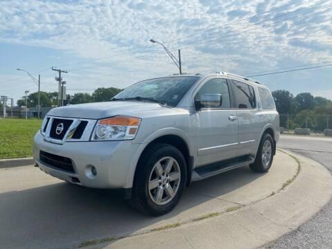 2011 Nissan Armada for sale at Xtreme Auto Mart LLC in Kansas City MO