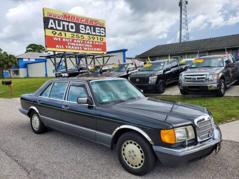 1990 Mercedes-Benz 350-Class for sale at Mox Motors in Port Charlotte FL