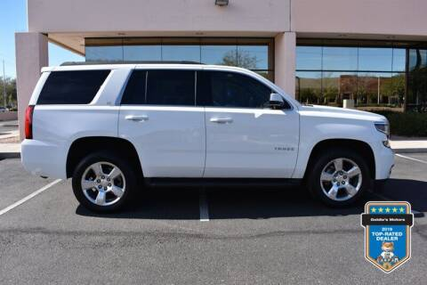 2015 Chevrolet Tahoe for sale at GOLDIES MOTORS in Phoenix AZ
