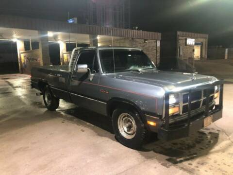 1993 Dodge Ram for sale at Classic Car Deals in Cadillac MI