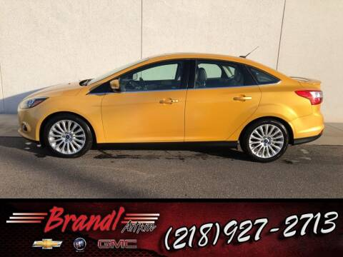 2012 Ford Focus for sale at Brandl GM in Aitkin MN
