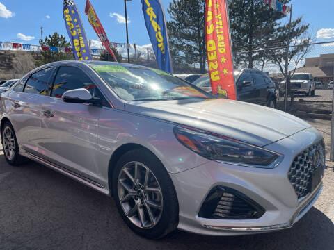 2019 Hyundai Sonata for sale at Duke City Auto LLC in Gallup NM