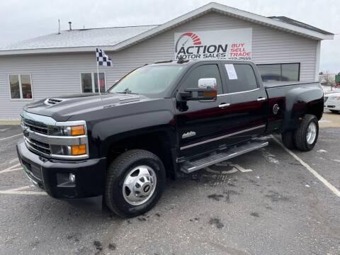 2019 Chevrolet Silverado 3500HD for sale at Action Motor Sales in Gaylord MI