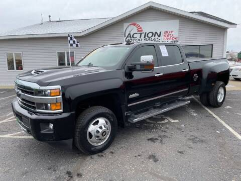 2019 Chevrolet Silverado 3500HD for sale at Action Motor Sales in Gaylord MI