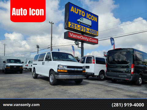2013 Chevrolet Express Passenger for sale at Auto Icon in Houston TX