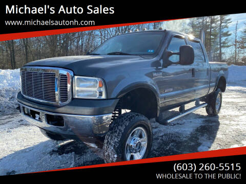 2007 Ford F-250 Super Duty for sale at Michael's Auto Sales in Derry NH
