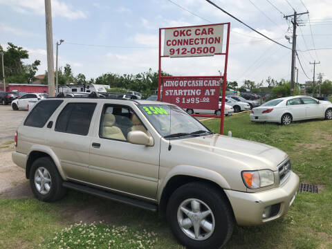 2001 Nissan Pathfinder for sale at OKC CAR CONNECTION in Oklahoma City OK